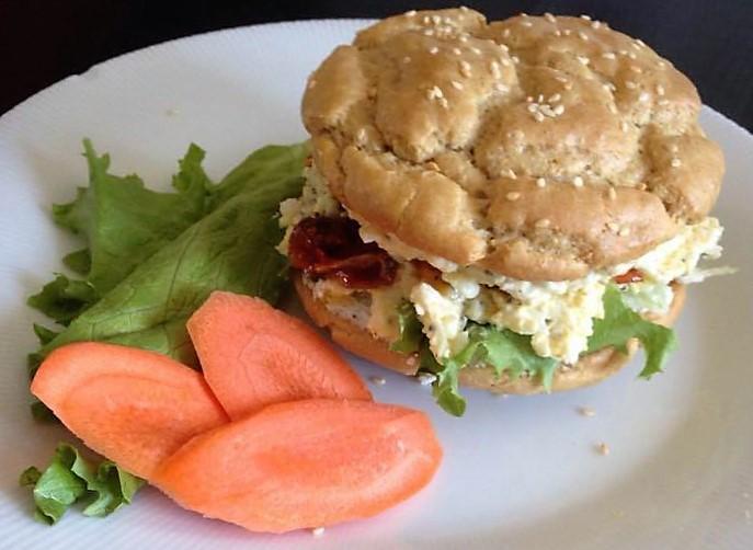 sandwich oeufs