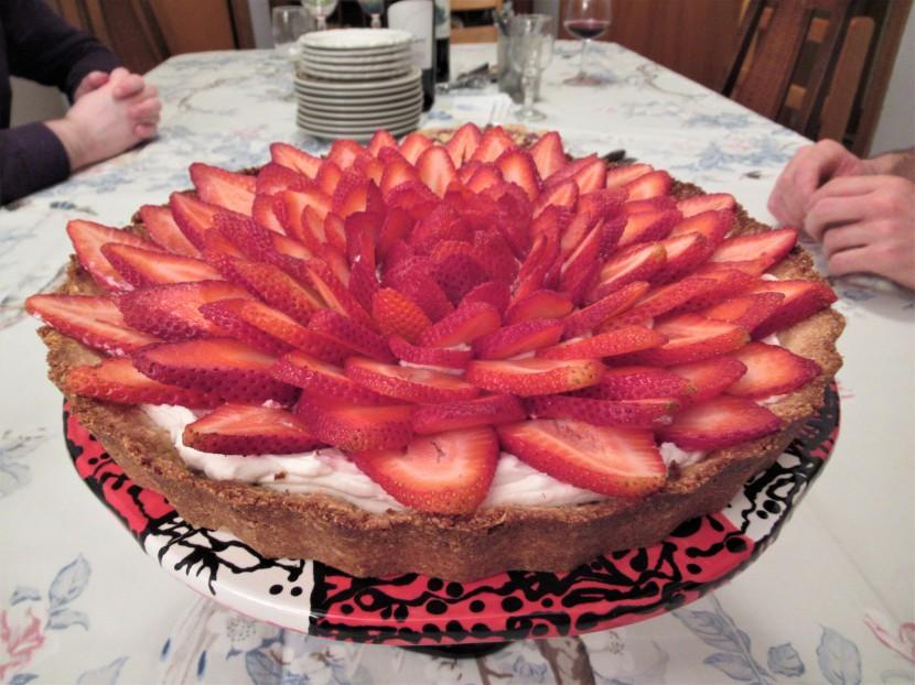 tarte démoulée