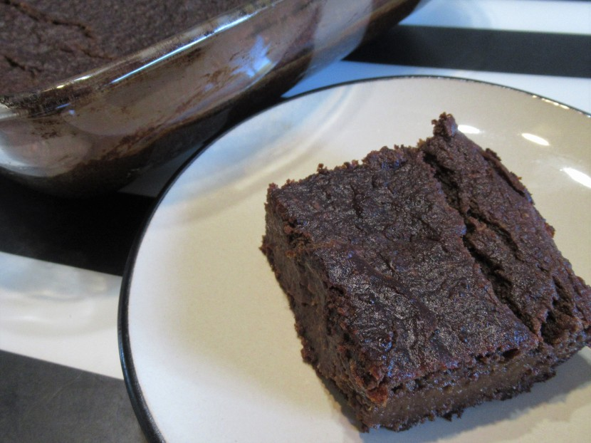 Brownies caroube